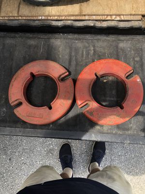 4 Wheel Horse Wheel Weights for Sale in Hanover, PA
