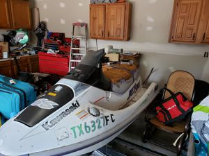 96 Kawasaki SS jet ski with dual trailer for Sale in The Colony, TX