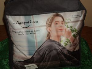 Weighted Idea weighted Blanket 12lbs for Sale in LaGrange, OH