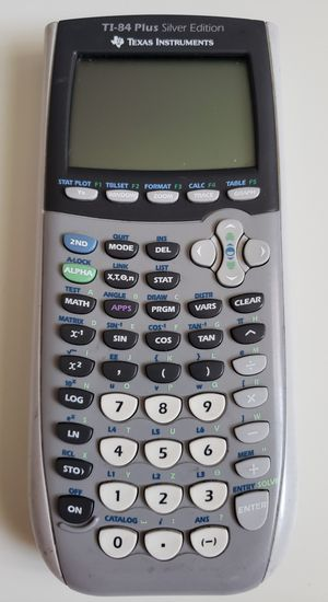 Texas Instruments TI-84 Plus Silver Edition Graphing Calculator~No Slice Cover for Sale in Adelphi, MD