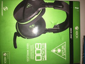 Turtle Beach Stealth 600 Wireless Surround Sound Gaming Headset for Xbox One for Sale in Jacksonville, FL