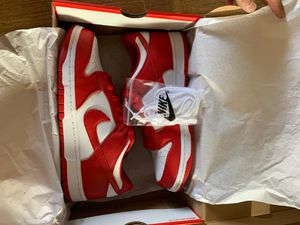 Nike Dunk Low St. John University Red for Sale in Portland, OR