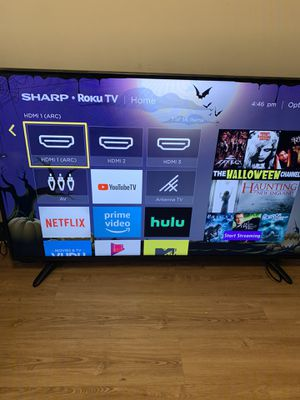 55 inches sharp for Sale in Cleveland, OH