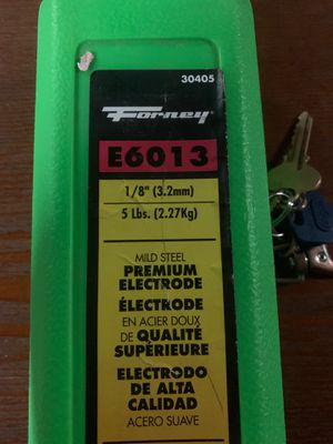 Forney Mild Steel General Purpose Electrode for Sale in Brooklyn, NY