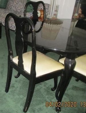 Dining room set -table + 4 chairs for Sale in Weston, FL
