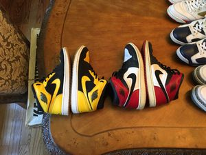 Jordan retro 1 old love new love pack, size 10 and 9.5 for Sale in Manalapan Township, NJ