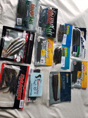 Fishing Lures Soft Plastics for Sale in Oceanside, CA