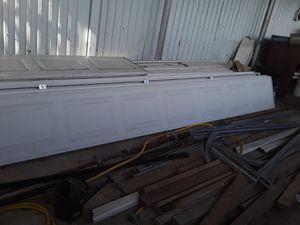 16 x 7 garage door panels for Sale in Painesville, OH