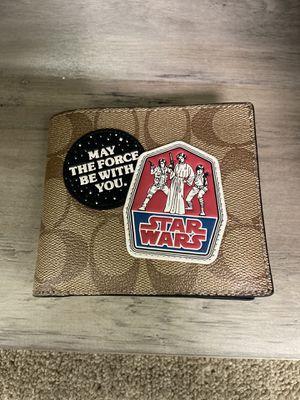 Coach Star Wars edition men's wallet for Sale in Lynwood, CA