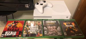 Xbox One S (+games) obo will go down for Sale in Owensboro, KY