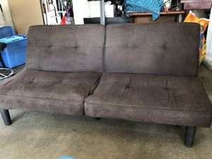 Brown futon for Sale in Ontario, CA
