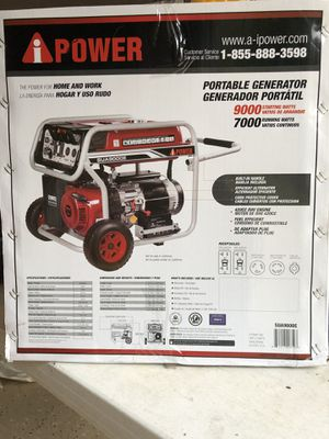 A-I Power 9000 gasoline generator/electric start for Sale in Lutz, FL