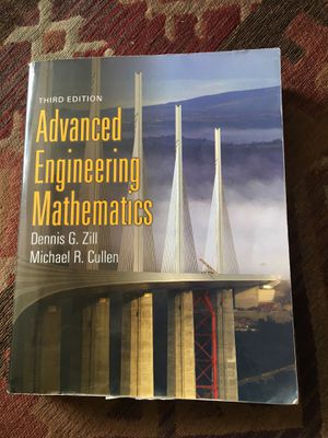 Advanced Engineering Mathematics (3rd Ed) (Zill and Cullen) for Sale in Lexington, KY