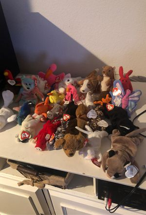 30 year old beanie babies for Sale in Sacramento, CA