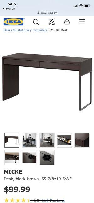 IKEA Micke Computer Desk for Sale in Falls Church, VA