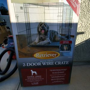 XL OUTDOOR DOG CRATE / FREE for Sale in Rialto, CA