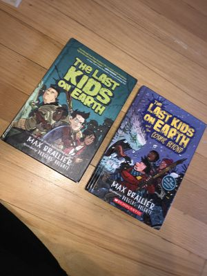 2 Last kids on Earth books $5 for both for Sale in Lawrence, MA