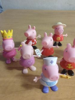 Peppa Pig Figures Lot for Sale in Huttonsville,  WV