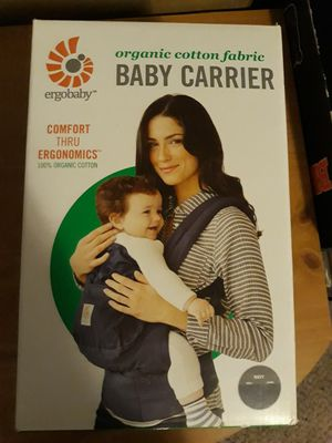 Ergo organic cotton baby carrier for Sale in South Salt Lake, UT