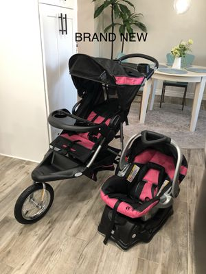 Baby Trend Expedition Jogger Travel System Stroller for Sale in Phoenix, AZ