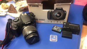 Canon 1200d for Sale in Chico, CA