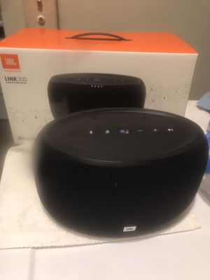 JBL LINK 300 VOICE-ACTIVATED SPEAKER..BRAND NEW for Sale in The Bronx, NY