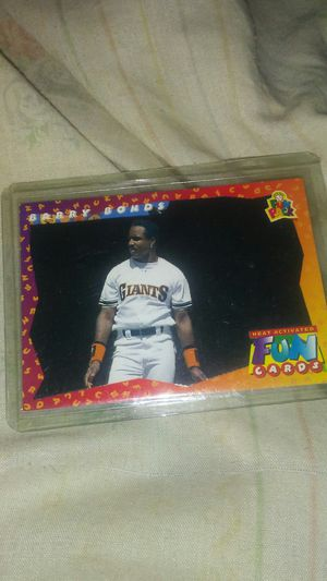 1993 Baseball Card changes color when touched for Sale in Shelby, NC