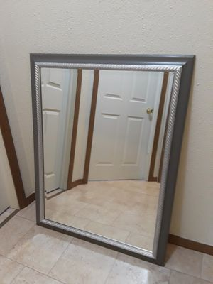 Gray / Silver Mirror for Sale in Berea, OH