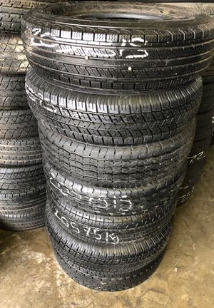 Trailer tires 90% life for Sale in Houston, TX