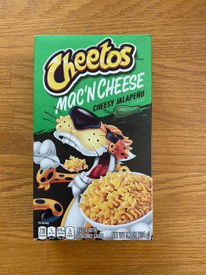 Cheetos Mac'n Cheese Cheesy Jalapeño for Sale in Bloomingdale, IL