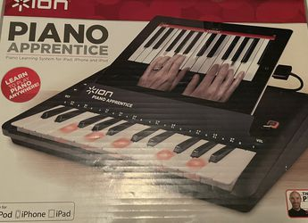 ION Audio Piano Apprentice 25-Note Lighted Keyboard for iPad, iPod and iPhone for Sale in Tempe,  AZ