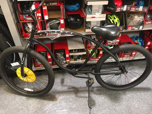 "Firmstrong 26"" Mens black single speed cruiser bike for Sale in Dearborn Heights, MI"