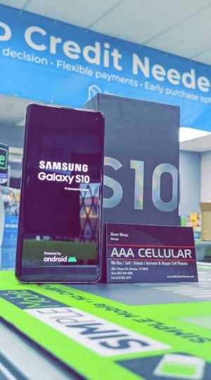 Unlocked Samsung Galaxy S10, 128gb, Excellent condition, Free charger for Sale in Fort Worth, TX