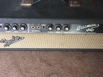 1967 Fender bassman head blackface Ab165 for Sale in Union City,  CA
