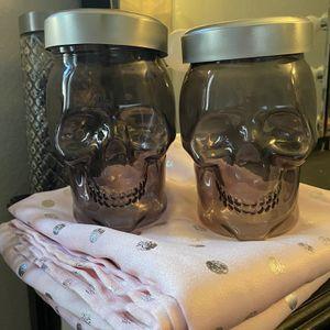 Skull Jars (2) for Sale in Menifee, CA