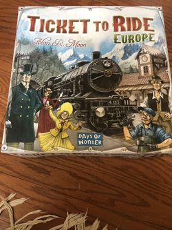 Ticket to Ride for Sale in Springfield, VA