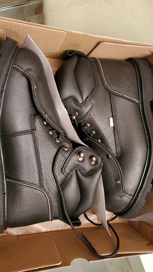 Black Work boots 11.5 w for Sale in Pompano Beach, FL
