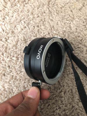Movo Rapid Multi-Lens Changer & Rotating Strap for Canon EOS EF/EF-S Mount DSLR Camera Lenses for Sale in Lauderhill, FL