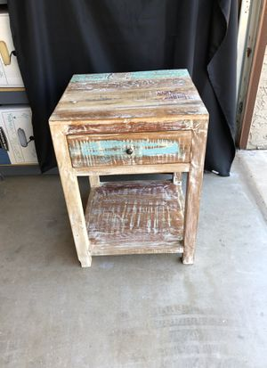 End table rustic for Sale in Tempe, AZ