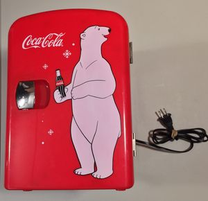 Coca Cola Retro Personal Mini Fridge Polar Bear for Sale in Morton Grove, IL