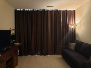 "Six 108"" L Black Out Curtain Panels for Sale in Fairfax, VA"