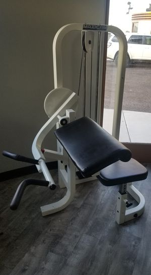 Bicep Curl Machine by MAXICAM for Sale in Gilbert, AZ