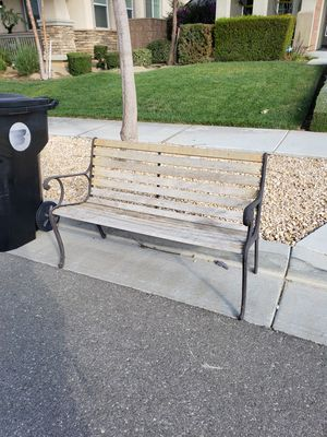 Curb Alert Bench for Sale in Rancho Cucamonga, CA