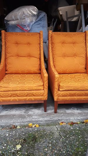 2 Mid Century Chairs for Sale in Ruston, WA