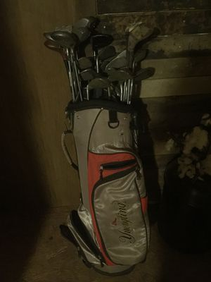 Assorted golf clubs and Wilson bag for Sale in Villa Rica, GA