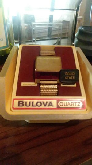 Boulva 1976 digital vintage watch for Sale in Pittsburgh, PA
