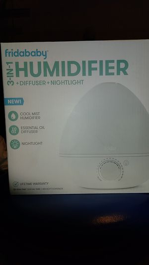 Fridababy 3-in-1 Humidifier Diffuser Nightlight for Sale in Federal Way, WA
