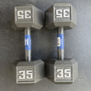 35 Pound Dumbbells for Sale in Los Angeles, CA