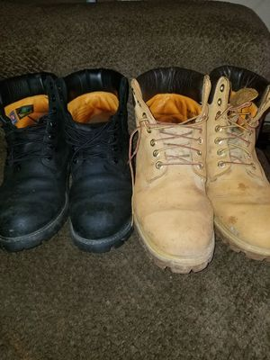 timberlands work boots for Sale in Fresno, CA