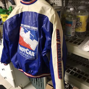 Indy racing league jacket Large for Sale in Northfield, OH